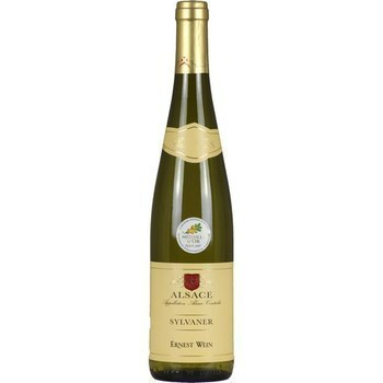 Alsace Sylvaner Ernest Wein 12,5° 75 cl - Vins - champagnes - Promocash RENNES