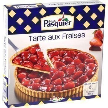 Tarte aux fraises 800 g - Surgelés - Promocash Amiens