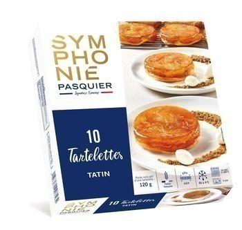 Tartelettes Tatin 10x120 g - Surgelés - Promocash Chambéry