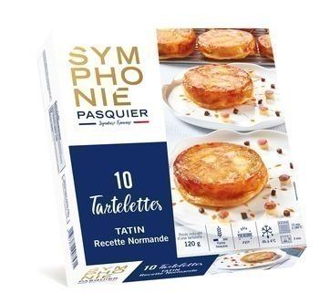 Tartelettes Tatin recette Normande 10x120 g - Surgelés - Promocash Amiens