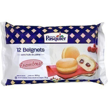 Beignets framboise 12x75 g - Surgelés - Promocash Mulhouse