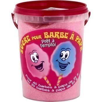 Sucre pour barbe à papa rose arôme fraise 1 kg - Epicerie Sucrée - Promocash Brive