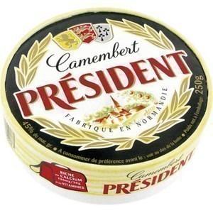 Camembert entier - la pièce de 250 g - Crèmerie - Promocash Bordeaux