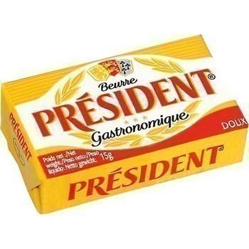 Beurre doux 100x15 g - Crèmerie - Promocash Périgueux