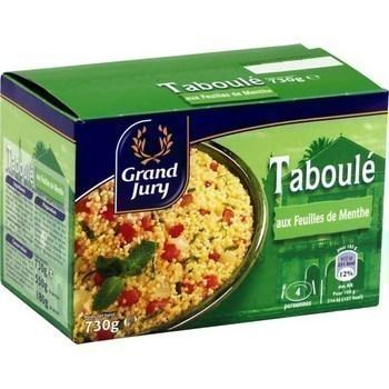 Taboulé aux feuilles de menthe 730 g - Epicerie Salée - Promocash Amiens