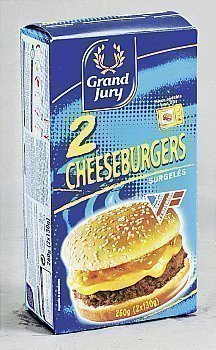 2x130g cheeseburger grand jury - Surgelés - Promocash Montluçon