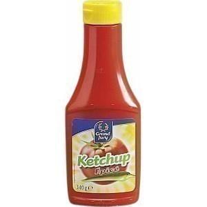 Ketchup épicé - le flacon de 340 g - Epicerie Salée - Promocash Amiens