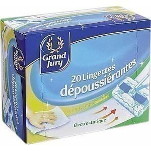 Lingettes dépoussiérantes - le paquet de 20 - Hygiène droguerie parfumerie - Promocash Amiens
