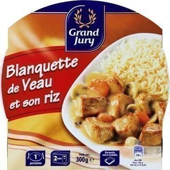 Blanquette de veau et son riz 300 g - Epicerie Salée - Promocash Castres