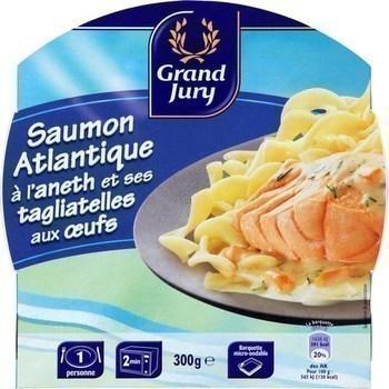Saumon Atlantique à l'aneth et ses tagliatelles aux oeufs 300 g - Epicerie Salée - Promocash Brive