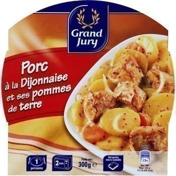 Porc à la dijonnaise et ses pommes de terre 300 g - Epicerie Salée - Promocash Antony