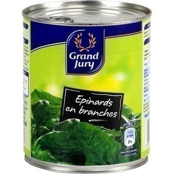 Epinards en branches 530 g - Epicerie Salée - Promocash Anglet