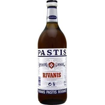Pastis rivanis 45% 1 l - Alcools - Promocash Anglet