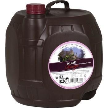 Vin de pays de l'Aude 12° 5 l - Vins - champagnes - Promocash Antony