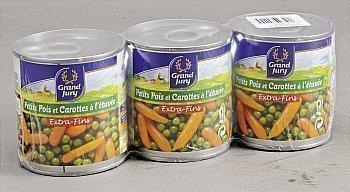 Petits pois et carottes à l'étuvée extra-fins - Epicerie Salée - Promocash Anglet