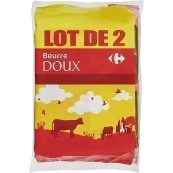 Beurre doux 2x250 g - Crèmerie - Promocash LA FARLEDE