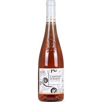 Cabernet d'Anjou Dominique Foucher 11° 75 cl - Vins - champagnes - Promocash AVIGNON