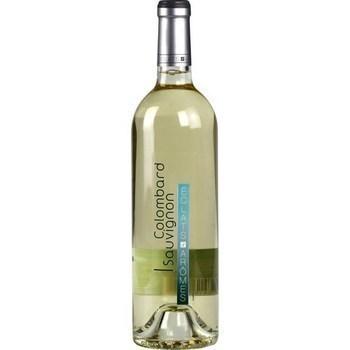 Vin de pays Côtes de Gascogne Colombard Sauvignon Eclats d'Arômes 11,5° 75 cl - Vins - champagnes - Promocash Albi