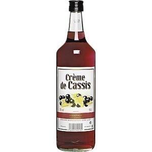Crème casses 15% 1 l - Alcools - Promocash Anglet