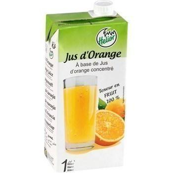 Jus d'orange 1 l - Brasserie - Promocash Clermont Ferrand