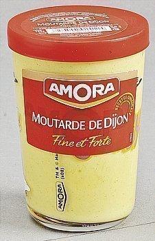 Moutarde verre TV AMORA - le verre 195g - Epicerie Salée - Promocash Anglet