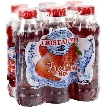 Boisson à l'eau de source fraise 6x0,5 l - Brasserie - Promocash Thonon
