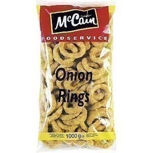 Onion rings 1 kg - Surgelés - Promocash Gap
