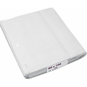 Nappe super blanc 250x60x100 cm - Bazar - Promocash Anglet