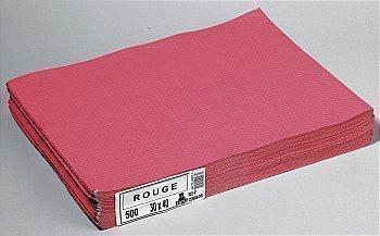 Sets rouges en papier 500x30x40 cm - Bazar - Promocash Bourgoin