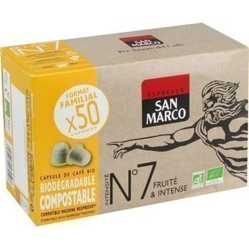 Capsule de café bio n°7 fruité & intense x50 - Epicerie Sucrée - Promocash Albi
