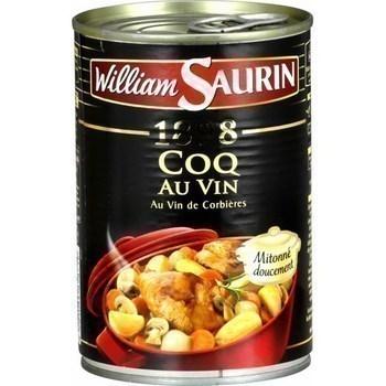 Coq au vin de Corbières mitonné doucement 400 g - Epicerie Salée - Promocash Périgueux
