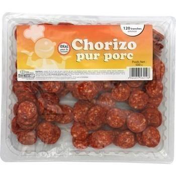 Chorizo pur porc en tranche 500 g - Charcuterie Traiteur - Promocash Albi