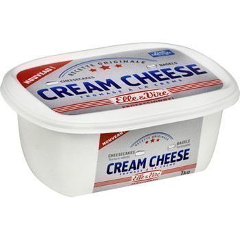 Cream Cheese 1 kg - Crèmerie - Promocash LA FARLEDE