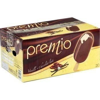 Bâtonnets de glace vanille chocolat au lait 20x110 ml - Carte des glaces - Promocash Gap