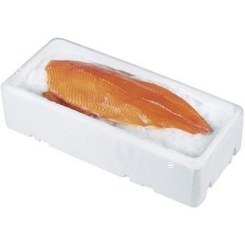 Filet de saumon atlantique a/peau 1/1,6 kg 10 kg - Marée - Promocash Chambéry