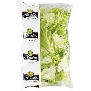 Batavia feuilles entières - 500 g - transformé en France - en sachet - Fruits et légumes - Promocash Amiens