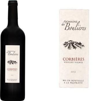 Corbières - Vieilles Vignes Domaine des Boulières 13,5° 75 cl - Vins - champagnes - Promocash Albi