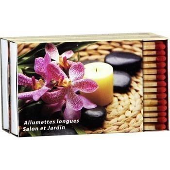 Allumettes longues motifs assortis 2x45 - Hygiène droguerie parfumerie - Promocash Albi
