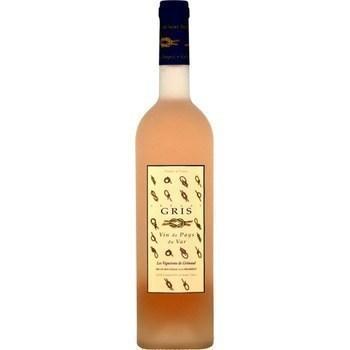Gris - Vin de Pays du Var - Les Vignerons de Grimaud 12,5° 75 cl - Vins - champagnes - Promocash Aurillac