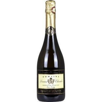 Crémant de Bourgogne Cuvée Prestige brut Domaine Gracieux Chevalier 12° 75 cl - Vins - champagnes - Promocash Avignon