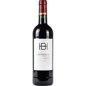 Bordeaux Appellation Bordeaux Contrôlée Château Haut-Bernicot 13,5° 75 cl - Vins - champagnes - Promocash Saint Brieuc
