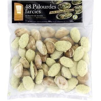 Palourdes farcies au beurre de baratte - Restauration - Surgelés - Promocash Nantes