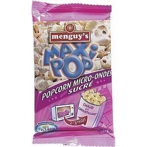 Maxi pop corns légèrement sucrés 90 g - Epicerie Sucrée - Promocash Brive