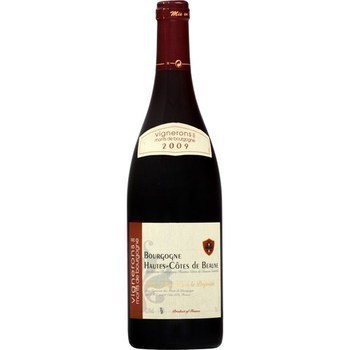 Bourgogne Hautes-Côtes de Beaune Vign. Monts Bourgogne 11,5° 75 cl - Vins - champagnes - Promocash AVIGNON