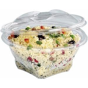 Bol salade transparent à couvercle déchirable 1000cc SEKIPACKle paquet de 20 - Bazar - Promocash Bordeaux
