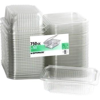 Boites rectangle 750cc X750LCP - Bazar - Promocash Charleville