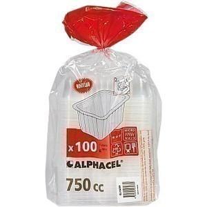 Barquettes scellables translucides 100x750cc - Bazar - Promocash Millau