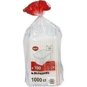 Barquettes scellables translucides 100x1000cc - Bazar - Promocash Bergerac