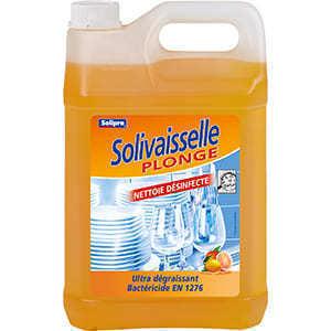 Liquide vaisselle plonge désinfectant aux agrumes 5 kg - Hygiène droguerie parfumerie - Promocash Bourgoin