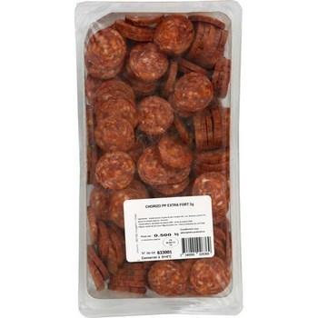 Chorizo pur porc extra fort 500 g - Charcuterie Traiteur - Promocash Amiens